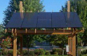abris bois solar